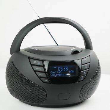 Steepletone DABSTAR FM/DAB+ Radio - Full function top loading CD player – AUX IN AC/DC