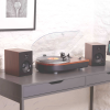 Steepletone Camden 2 Professional Turntable with Auto-Return Bluetooth Playback/Receive (Wood Effect)