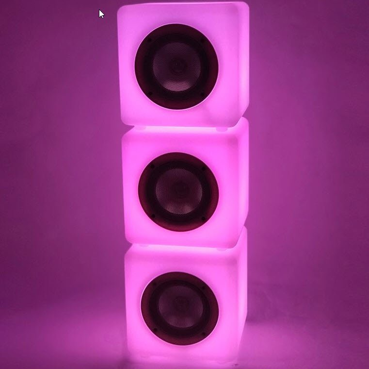 Steepletone Cube Connex 20 Bluetooth Speaker