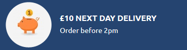 next day delivery rate
