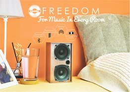 Steepletone Freedom Speakers