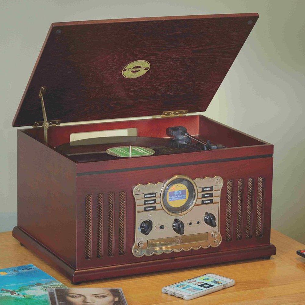 Steepletone Westminster Nostalgia 3-Speed Record Player